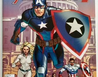 Captain America Steve Rogers #1 - Marvel Comics Free shipping