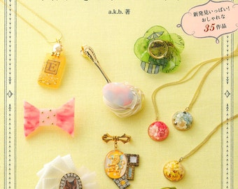 UV-Resin Accessories Book - Beat with UV Resin Accessories Book Japanese Craft Book 303893