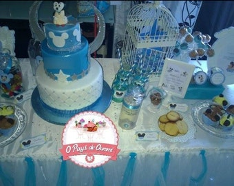 Custom kit of decoration for your Sweet candy bar like UMMI & table