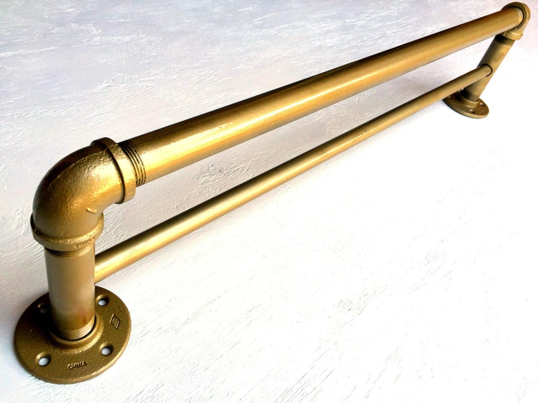 🔎zoom. industrial curtain rod industrial double curtain rod