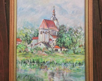 Church on River