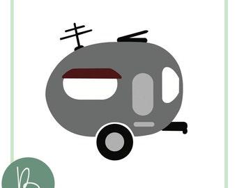Camper or Trailer SVG File