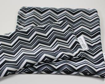 Zigzag: Snack Bags, Sandwich Bags, Washable, Reusable, Eco Friendly, Minimalist