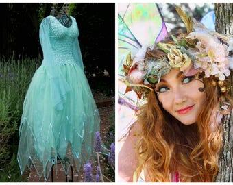 Adult Fairy  Halloween Costume ~ Woman's Fairy Dress ~ Cosplay ~Theatre  ~ Festival ~Theatre ~ Masquerade ~ Hens Night