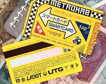"Blade Runner Inspired Fan-Made ""Metrokab"" Cards"