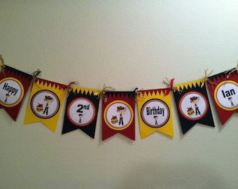 Pirate Word Banner Special Accents