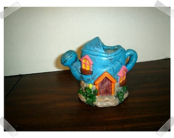 Mini Fairy Garden Watering Can House/ Resin /Single /Minis/Supplies*