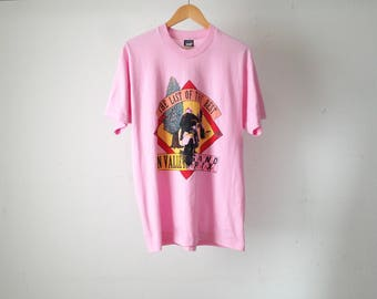 vintage MOTOR BIKE grand prix SUN Valley Idaho vintage 90s size xl pink t-shirt