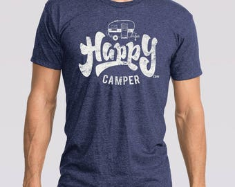 Adult & Youth Happy Camper Tee
