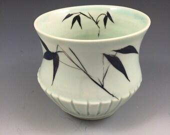 Celadon Tea Bowl or Yunomi