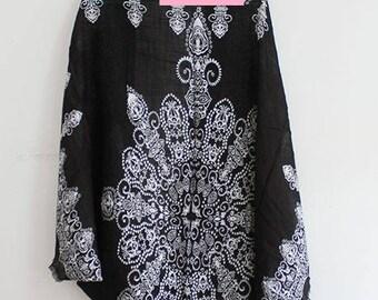Cocoon Kimono with Paisley Print