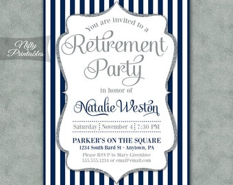 retirement party retirement invitation retiring retired