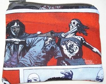 The Walking Dead Coin Pouch: Michonne, Comic Book.