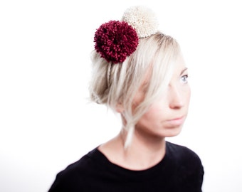 Pom Pom Headband Hair Accessory