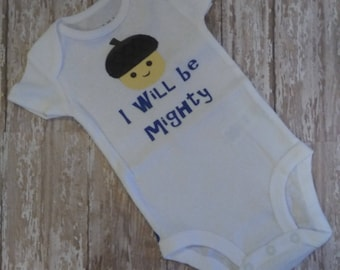 I Will Be Mighty Onsie