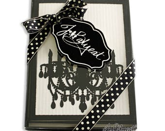 Blank Note Cards - Chandelier - Note Cards - Boxed Set of 8