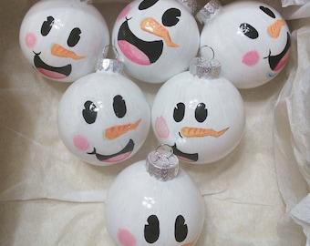 Cute Snowmen Ornamentments
