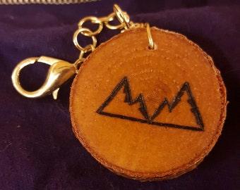 Twin Peaks Keychain
