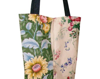Cornish Summer Tote / Lined / Pocket