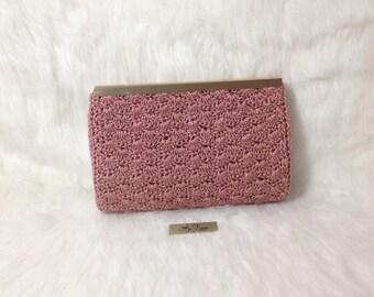 Crocheted bag-Handmade bag-crochet small bag-bag-bag-box bag - MTmini 12