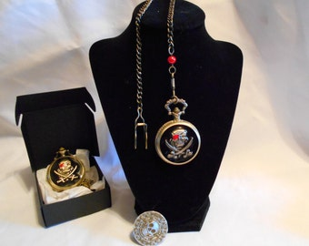 Pirate Pocket Watch