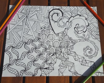 Coloring Pages Question Mark : Creative coloring tips for adult coloring books