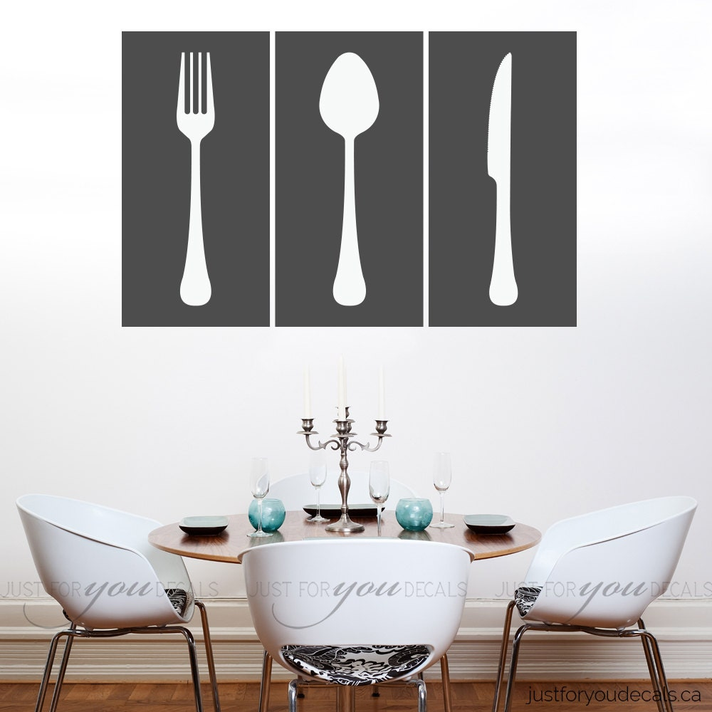 Kitchen Wall Decal Living Room Wall Decal Dining Room Wall