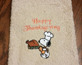 Happy Thanksgiving-Hand Towel