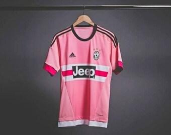 Jeep Juventus Pink Drake Football Soccer Shirt Jersey (S/M/L/XL)