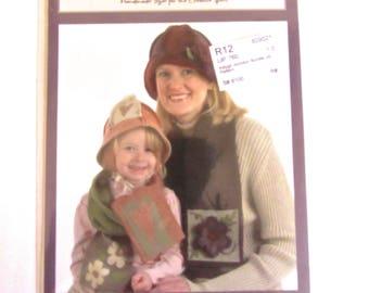 Indygo Junction Bundle Up - Pattern Hats Women Child
