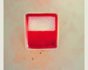 Rothko RED Ring: Adjustable