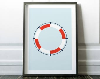 Bathroom Wall Art, Wall Art Prints, Nautical Prints, Bathroom Art, Bathroom Prints, Nautical Art, Wall Art, Prints, Minimalist Art, Art