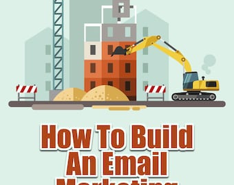 How To Build An Email Marketing Campaign | Auto Responders, Drip Campaign, Internet Marketing, Sales, Worksheet, Printable, Bonus Video