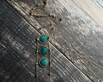 Tibetan Necklace,Turquoise Necklace,Coral Necklace,Ladder Necklace,Tribal Necklace,Nepal Necklace,Tribal Ladder,Tribal Jewelry,Boho Jewelry