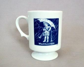 Morton Salt Mug When It Rains It Pours