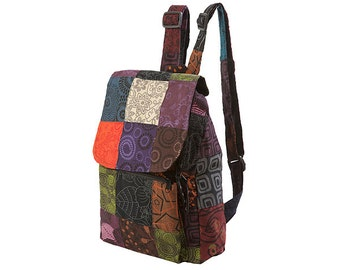 Petite Patchwork Backpack