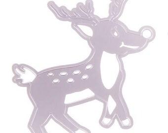 cut out reindeer Christmas scrapbooking
