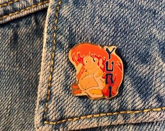 """Enamel pin """"Yuri"""" Retro Vintage 90's"""