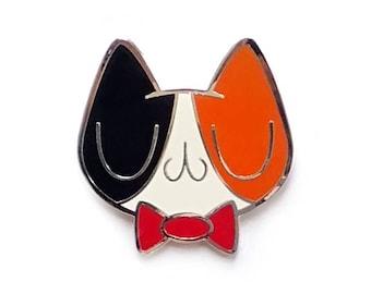 Meu Calico Cat Enamel Pin