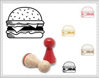 Rubber stamp CHEESEBURGER Ø 15 mm