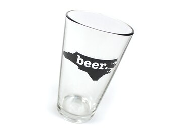 NC Beer Pint Glasses
