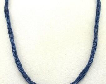 Beadwoven Herringbone Rope Necklace - N008BFL