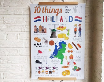 Poster 10 Things You Should Know About Holland