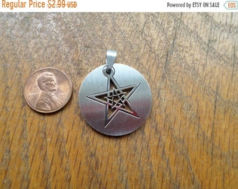 10%OFF3DAYSALE Stainless Steel pentacle Pendant Center For necklace