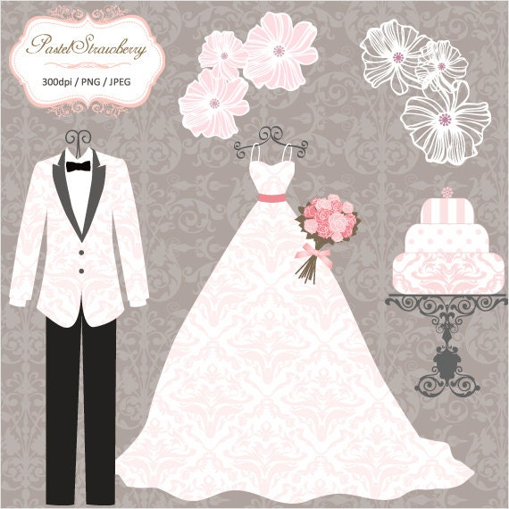 Luxury Wedding Dress & 2 Tuxedos - Personal Or Small Commercial ...