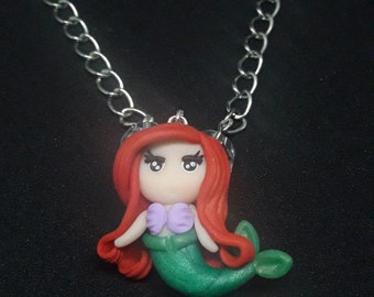 Chibi disney Princess Ariel Mermaid