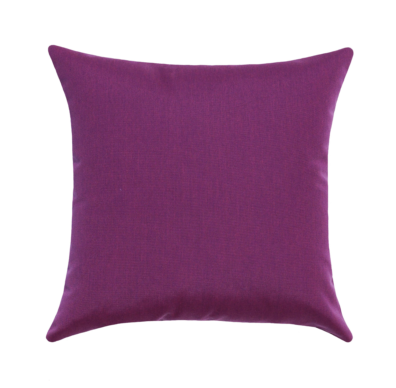 Purple Outdoor Pillow Sunbrella Iris Outdoor Pillow