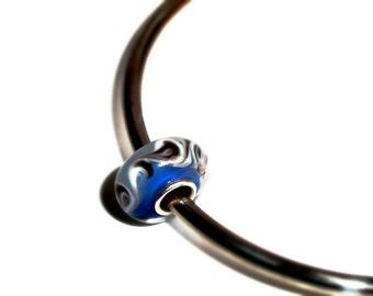Large Hole Beads, European Charm Beads, Glass & Lampwork Large Hole Beads, Sterling Silver Large Hole Beads, Large Hole Glass Bead, Beads