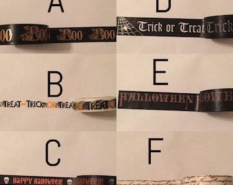 Washi Tape Sample: Halloween #5