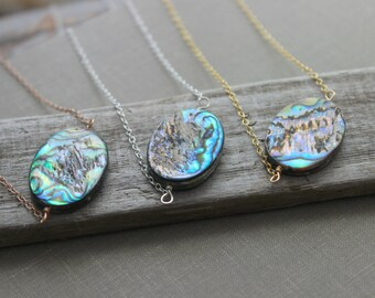 Seashell necklace Etsy